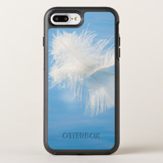 White Feather Reflects on Water | Seabeck, WA OtterBox Symmetry iPhone 8 Plus/7 Plus Case