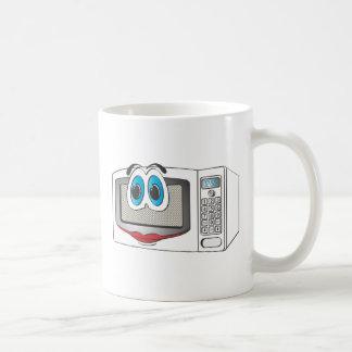 White Female Cartoon Microwave Mugs