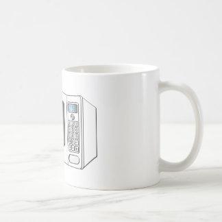 White Female Cartoon Microwave Coffee Mug