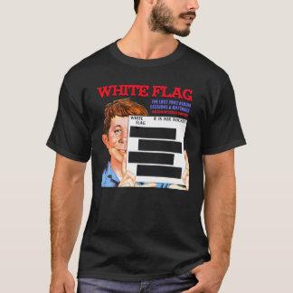 White Flag R IS FOR ROCKET LP dark background T-Shirt