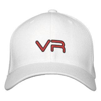 White flexfit hat VR