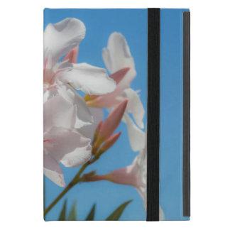 White Flora Cover For iPad Mini