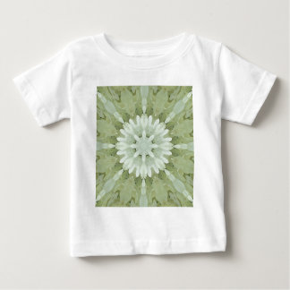 white floral abstract engagement wedding home art baby T-Shirt