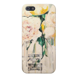 White Floral iPhone 5 Case