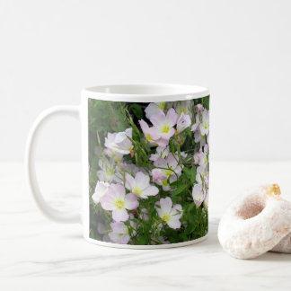 White Flower Bed Coffee Mug