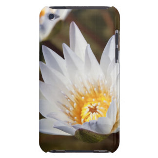 White Flower iPod Touch Cases