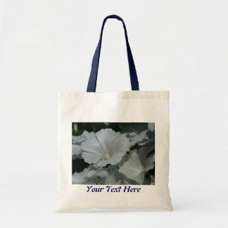 White Flower Center Budget Tote Bag