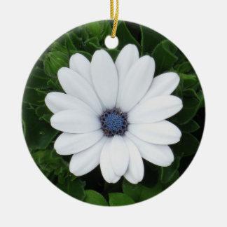 White Flower custom ornament