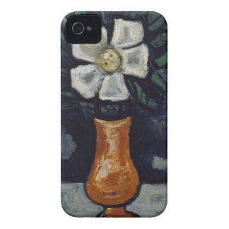 White Flower - Marsden Hartley Case-Mate iPhone 4 Cases