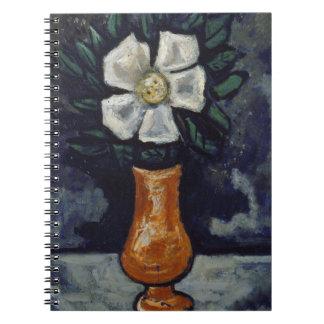 White Flower - Marsden Hartley Spiral Notebooks