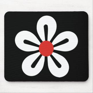 White Flower Mousepad