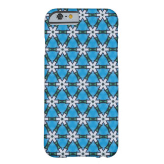 White Flower Pattern Phone Case Barely There iPhone 6 Case