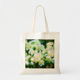 White Flowers Bag