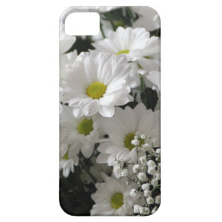 White Flowers Barely There iPhone 5 Case
