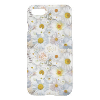 White Flowers Bouquet Floral Wedding Bridal Spring iPhone 7 Case
