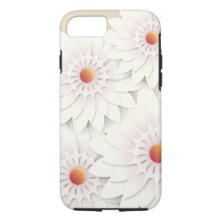 White flowers design iPhone 8/7 case