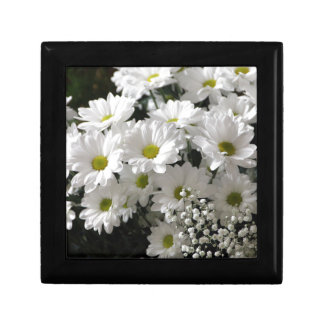 White Flowers Gift Box