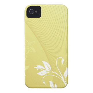 white flowers iPhone 4 Case-Mate case