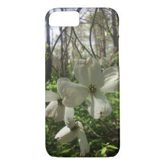 White Flowers iPhone 8/7 Case