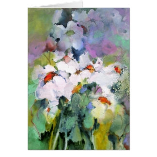 White Flowers • Michelle Abrams - card