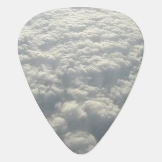WHITE FLUFFY CLOUDS GUITAR PICK