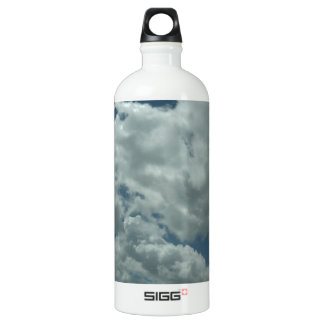 White, fluffy clouds in blue sky SIGG traveller 1.0L water bottle