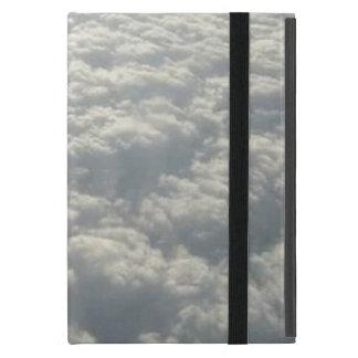 WHITE FLUFFY CLOUDS iPad MINI CASES