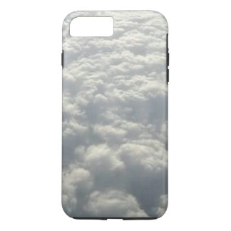 WHITE FLUFFY CLOUDS iPhone 7 PLUS CASE