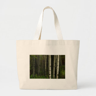 White Forest Large Tote Bag