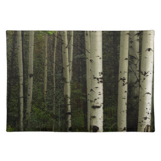 White Forest Placemat