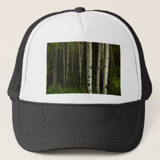 White Forest Trucker Hat