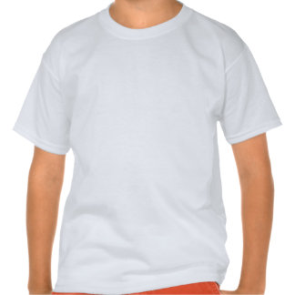 White Frog Bright Rainbow Stripes T-shirt