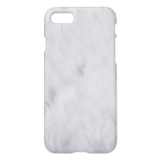 White Fur iPhone Case