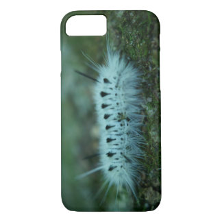 White Fuzzy Caterpillar iPhone 7 Barely There Case
