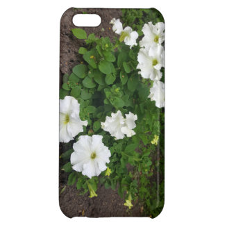 White garden flowers photograph iPhone 5C cover