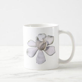 White Gardenia Bud 201711g Coffee Mug
