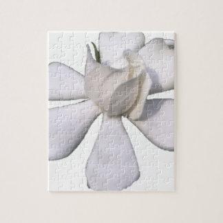 White Gardenia Bud 201711g Jigsaw Puzzle