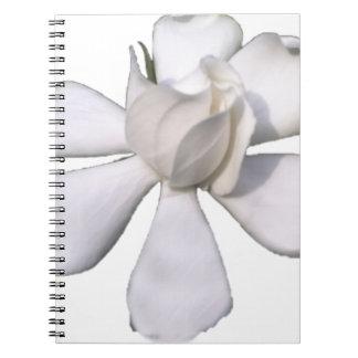 White Gardenia Bud 201711g Notebook