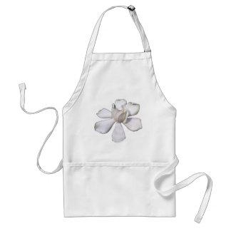 White Gardenia Bud 201711g Standard Apron