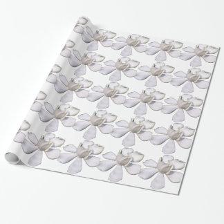 White Gardenia Bud 201711g Wrapping Paper
