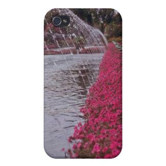 White Gardens of the Alcazar, Cordoba, Spain flowe iPhone 4/4S Cover