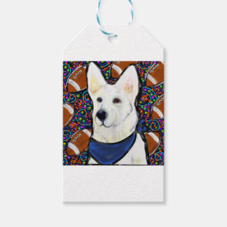 White German Shepherd Gift Tags