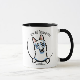 White German Shepherd IAAM Mug