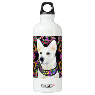 White German Shepherd Mardi Gras SIGG Traveller 0.6L Water Bottle