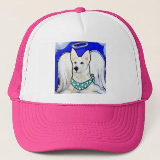 White German Shepherd Trucker Hat