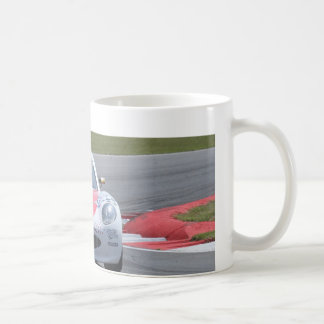 White Ginetta racing car Coffee Mugs
