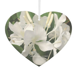 White Ginger Lilies