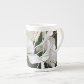White Ginger Lily Tea Cup