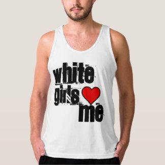 White Girls Tank Tops
