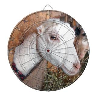 White Goat Dartboard